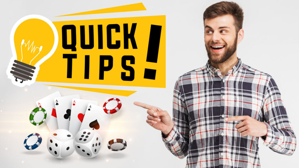 Tips from experienced gamblers